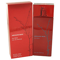 Armand Basi in Red by Armand Basi for Women Eau De Parfum Spray 3.4 oz