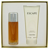 ESCAPE by Calvin Klein for Women Gift Set -- 3.4 oz Eau De Toilette Spray + 6.7 oz Body Lotion