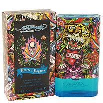 Ed Hardy Hearts and Daggers by Ed Hardy for Men Eau De Toilette Spray 3.4 oz