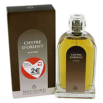 Chypre D'Orient by Molinard for Women Eau De Toilette Spray 3.4 oz