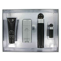Perry Ellis 360 Black by Perry Ellis for Men Gift Set -- 3.4 oz Eau De Toilette Spray + 3 oz After Shave Balm + 2.75 oz Deodorant Stick + .25 oz Mini EDT Spray