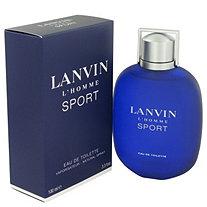 Lanvin L'homme Sport by Lanvin for Men Eau De Toilette Spray 3.3 oz