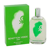 Benetton Verde by Benetton for Men Eau De Toilette Spray 3.3 oz