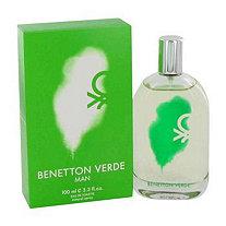 Benetton Verde by Benetton for Men Eau De Toilette Spray 3.3 oz