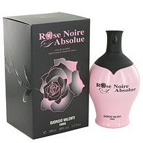 Rose Noire Absolue by Giorgio Valenti for Women Eau De Parfum Spray 3.4 oz