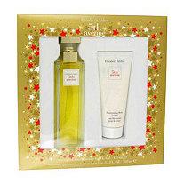 5TH AVENUE by Elizabeth Arden for Women Gift Set -- 4.2 oz Eau De Parfum Spray + 3.3 oz Body Lotion
