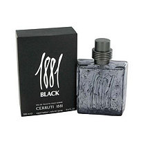 1881 Black by Cerruti for Men Eau De Toilette Spray 3.4 oz