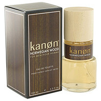 Kanon Norwegian Wood by Kanon for Men Eau De Toilette Spray 3.3 oz
