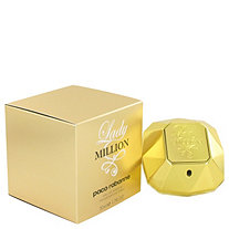 Lady Million by Paco Rabanne for Women Eau De Parfum Spray 1.7 oz