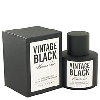 Kenneth Cole Vintage Black by Kenneth Cole for Men Eau De Toilette Spray 3.4 oz