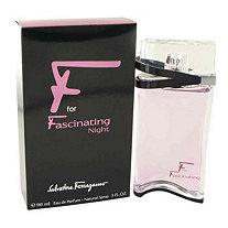 F for Fascinating Night by Salvatore Ferragamo for Women Eau De Parfum Spray 3 oz