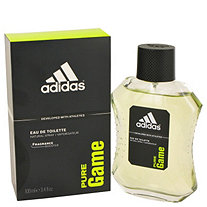 Adidas Pure Game by Adidas for Men Eau De Toilette Spray 3.4 oz