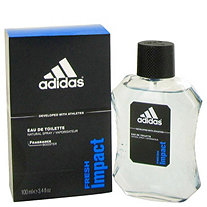 Adidas Fresh Impact by Adidas for Men Eau De Toilette Spray 3.4 oz