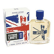 Extreme Limite Rock by Jeanne Arthes for Men Eau De Toilette Spray 3.3 oz