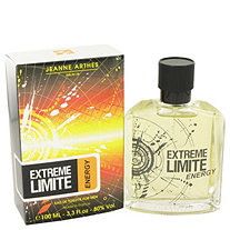 Extreme Limite Energy by Jeanne Arthes for Men Eau De Toilette Spray 3.3 oz