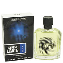 Extreme Limite Sport by Jeanne Arthes for Men Eau De Toilette Spray 3.3 oz