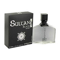 Sultan Black by Jeanne Arthes for Men Eau De Toilette Spray 3.3 oz