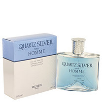Quartz Silver by Molyneux for Men Eau De Toilette Spray 3.4 oz