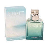 Eternity Summer by Calvin Klein for Men Eau De Toilette Spray (2012) 3.4 oz