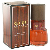 Kanon Agarwood by Kanon for Men Eau De Toilette Spray 3.3 oz