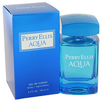 Perry Ellis Aqua by Perry Ellis for Men Eau De Toilette Spray 3.4 oz