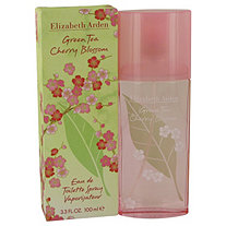 Green Tea Cherry Blossom by Elizabeth Arden for Women Eau De Toilette Spray 3.3 oz