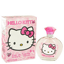 Hello Kitty by Sanrio for Women Eau De Toilette Spray 3.4 oz