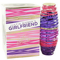 Girlfriend by Justin Beiber for Women Eau De Parfum Spray 3.4 oz