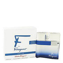 F Free Time by Salvatore Ferragamo for Men Eau De Toilette Spray 3.4 oz