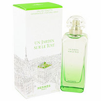Un Jardin Sur Le Toit by Hermes for Women Eau De Toilette Spray 3.3 oz