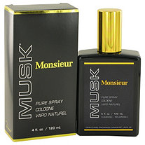 MONSIEUR MUSK by Dana for Men Cologne Spray 4 oz