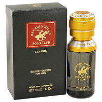 Beverly Hills Polo Club Classic by Beverly Fragrances for Men Eau De Toilette Spray 1.7 oz