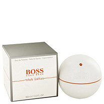Boss In Motion White by Hugo Boss for Men Eau De Toilette Spray 3 oz
