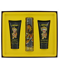 Ed Hardy by Christian Audigier for Men Gift Set -- 1.7 oz Eau De Toilette Spray + 3.3 oz Shower Gel + 3.3 oz Body Lotion