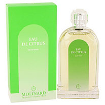 Eau De Citrus by Molinard for Women Eau De Toilette Spray 3.3 oz