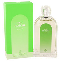 Eau Fraiche Molinard by Molinard for Women Eau De Toilette Spray 3.3 oz