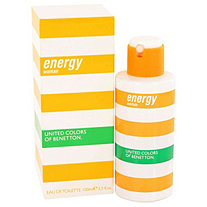 Benetton Energy by Benetton for Women Eau De Toilette Spray 3.4 oz
