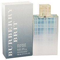 Burberry Brit Summer by Burberry for Men Eau De Toilette spray (2012) 3.3 oz
