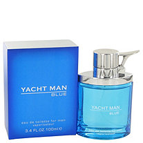 Yacht Man Blue by Myrurgia for Men Eau De Toilette Spray 3.4 oz