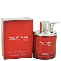 Yacht Man Red by Myrurgia for Men Eau De Toilette Spray 3.4 oz