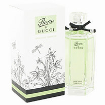 Flora Gracious Tuberose by Gucci for Women Eau De Toilette Spray 3.3 oz