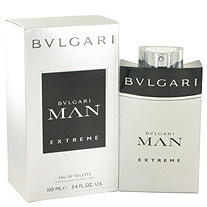 Bvlgari Man Extreme by Bvlgari for Men Eau De Toilette Spray 3.4 oz