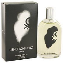 Benetton Nero by Benetton for Men Eau De Toilette Spray 3.3 oz