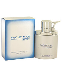 Yacht Man Metal by Myrurgia for Men Eau De Toilette Spray 3.4 oz