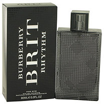 Burberry Brit Rhythm by Burberry for Men Eau De Toilette Spray 3 oz