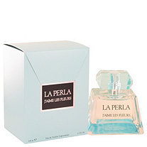 La Perla J'aime Les Fleurs by La Perla for Women Eau De Toilette Spray 3.3 oz