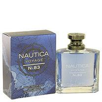 Nautica Voyage N-83 by Nautica for Men Eau De Toilette Spray 3.4 oz
