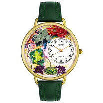 Personalized Frogs Watch in gold or silver case