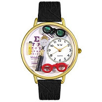 Personalized Opthamologist Watch in gold or silver case