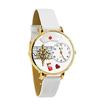 Personalized RN Watch in gold or silver case